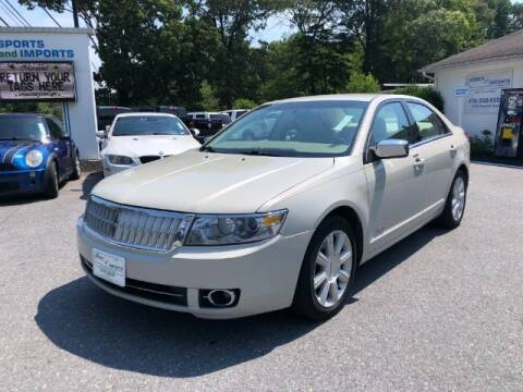 2007 Lincoln MKZ for sale at Sports & Imports in Pasadena MD