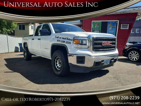 2015 GMC Sierra 1500 for sale at Universal Auto Sales Inc in Salem OR