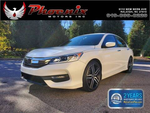 2016 Honda Accord for sale at Phoenix Motors Inc in Raleigh NC