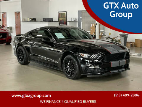 2015 Ford Mustang for sale at GTX Auto Group in West Chester OH