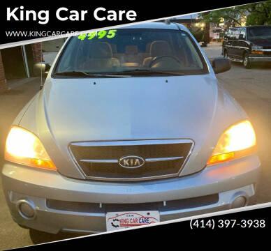 2006 Kia Sorento for sale at King Car Care in Milwaukee WI