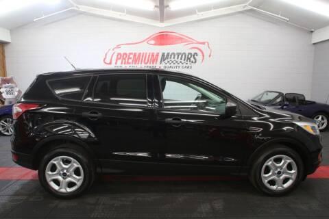 2017 Ford Escape for sale at Premium Motors in Villa Park IL