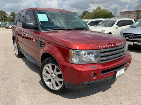 2009 Land Rover Range Rover Sport for sale at KAYALAR MOTORS in Houston TX