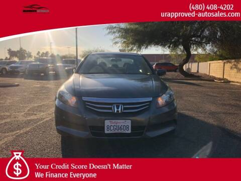 2012 Honda Accord for sale at UR APPROVED AUTO SALES LLC in Tempe AZ
