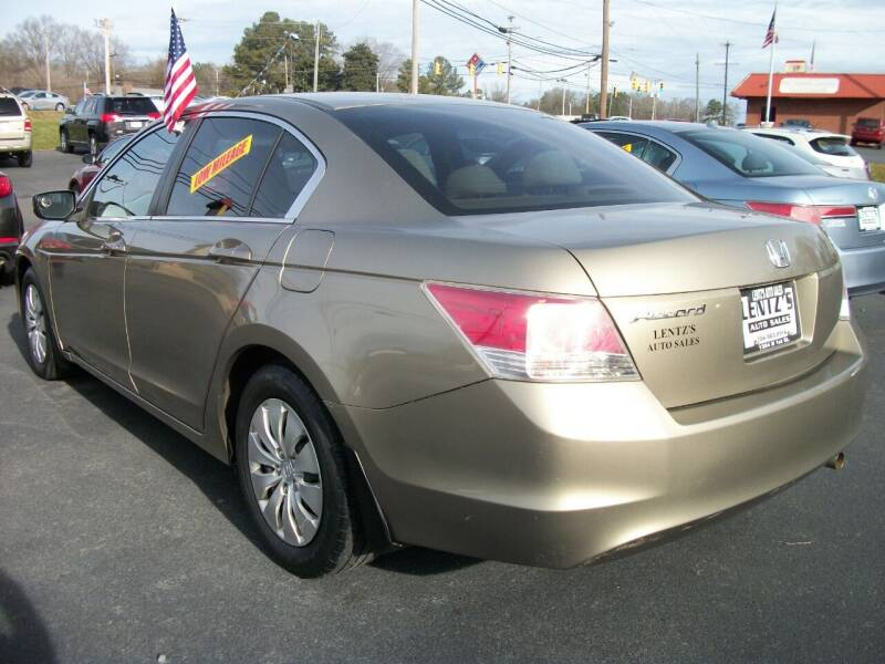2010 Honda Accord for sale at Lentz's Auto Sales in Albemarle NC