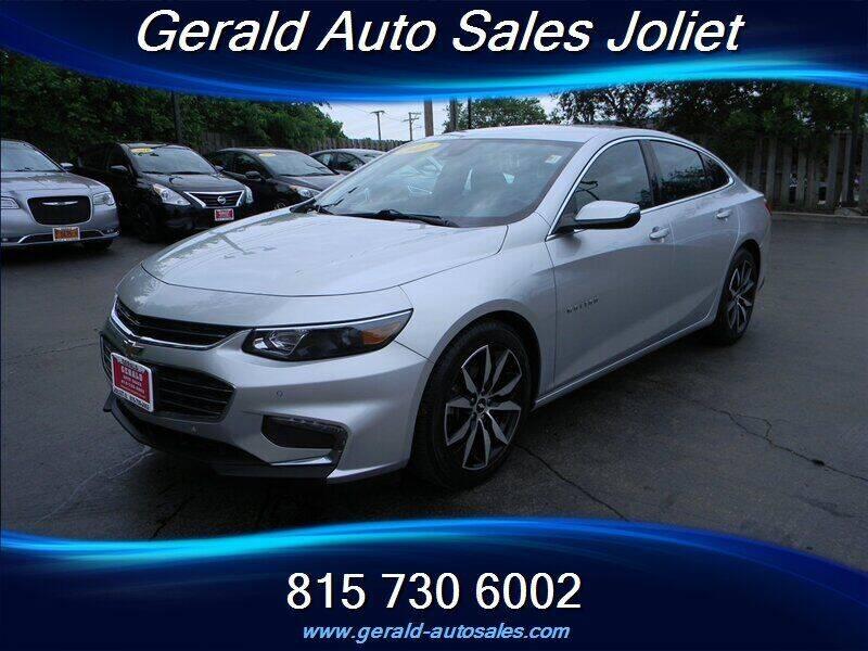 2017 Chevrolet Malibu for sale at Gerald Auto Sales in Joliet IL