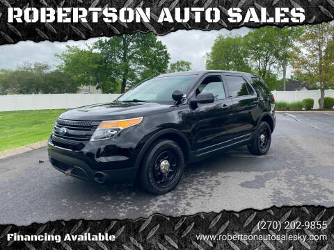 2015 Ford Explorer for sale at ROBERTSON AUTO SALES in Bowling Green KY