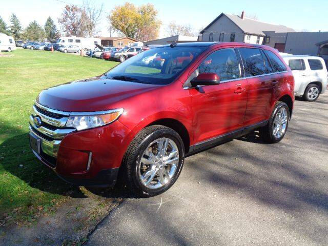 2014 Ford Edge for sale at COUNTRYSIDE AUTO INC in Austin MN