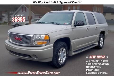 2006 GMC Yukon XL for sale at Steel River Auto in Bridgeport OH