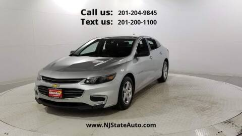 2018 Chevrolet Malibu for sale at NJ State Auto Used Cars in Jersey City NJ
