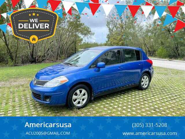 2009 Nissan Versa for sale at Americarsusa in Hollywood FL