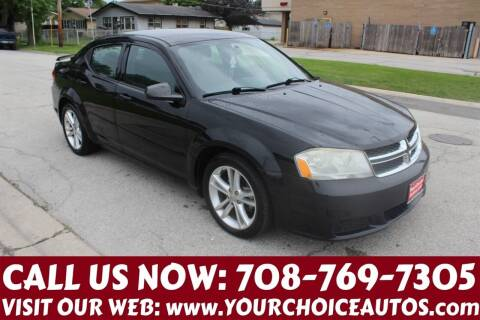 2012 Dodge Avenger for sale at Your Choice Autos in Posen IL