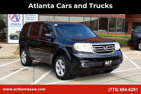 2015 Honda Pilot for sale at Atlanta Cars and Trucks in Kennesaw GA