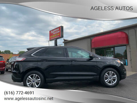 2016 Ford Edge for sale at Ageless Autos in Zeeland MI