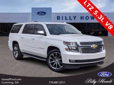 2016 Chevrolet Suburban for sale at BILLY HOWELL FORD LINCOLN in Cumming GA