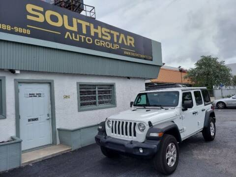 2019 Jeep Wrangler Unlimited for sale at Southstar Auto Group in West Park FL