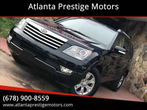 2009 Kia Borrego for sale at Atlanta Prestige Motors in Decatur GA