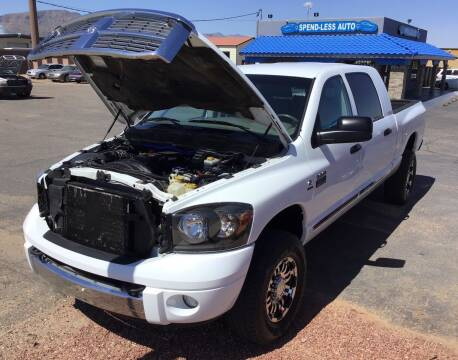 2007 Dodge Ram Pickup 3500 for sale at SPEND-LESS AUTO in Kingman AZ