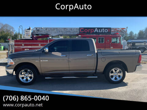 2009 Dodge Ram Pickup 1500 for sale at CorpAuto in Cleveland GA