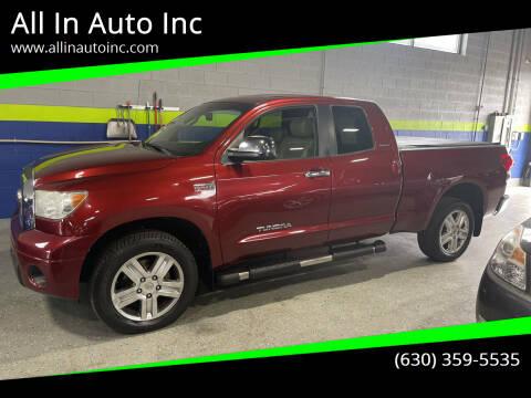 2007 Toyota Tundra for sale at All In Auto Inc in Addison IL