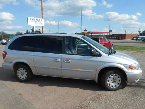 2002 Chrysler Town and Country for sale at Salmon Automotive Inc. in Tracy MN
