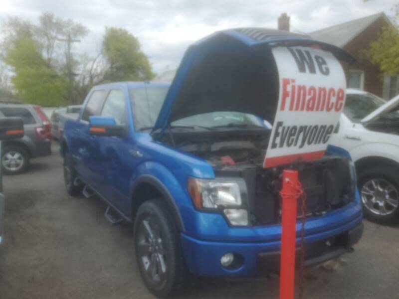 2012 Ford F-150 for sale at J & J Used Cars inc in Wayne MI