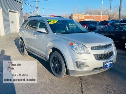 2015 Chevrolet Equinox for sale at Transportation Center Of Western New York in Niagara Falls NY