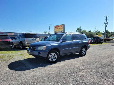 2003 Toyota Highlander for sale at TOMI AUTOS, LLC in Panama City FL