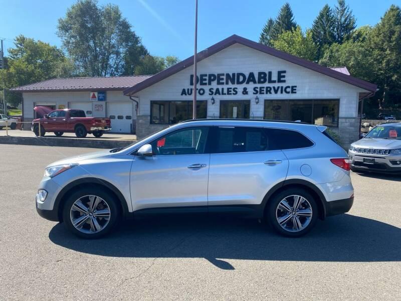2016 Hyundai Santa Fe for sale at Dependable Auto Sales and Service in Binghamton NY