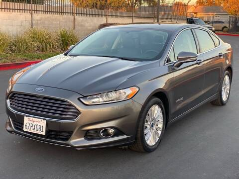 2013 Ford Fusion Hybrid for sale at United Star Motors in Sacramento CA