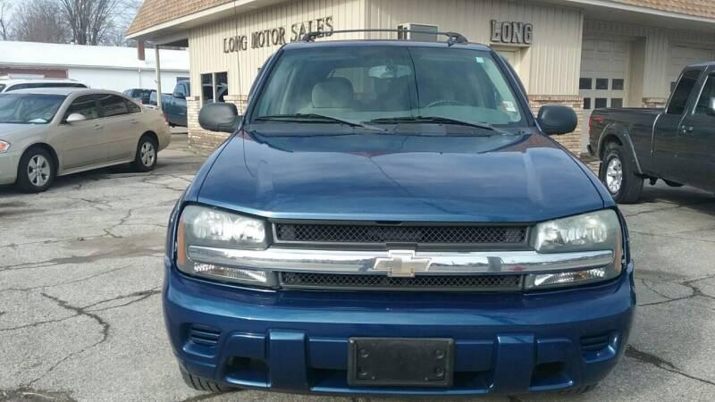 2006 Chevrolet TrailBlazer for sale at Long Motor Sales in Tecumseh MI