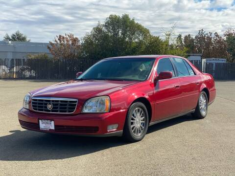 2005 Cadillac DeVille for sale at SHOMAN MOTORS in Davis CA