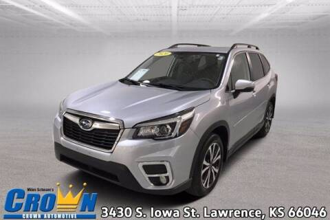 2020 Subaru Forester for sale at Crown Automotive of Lawrence Kansas in Lawrence KS