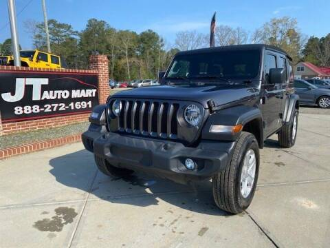 2020 Jeep Wrangler Unlimited for sale at J T Auto Group in Sanford NC