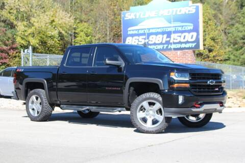 2018 Chevrolet Silverado 1500 for sale at Skyline Motors in Louisville TN