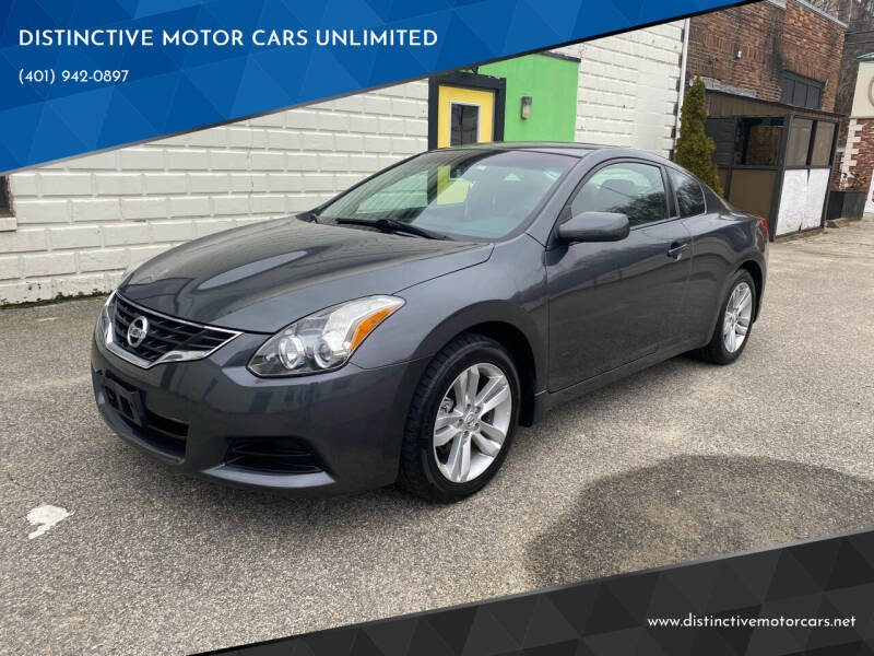 2012 Nissan Altima for sale at DISTINCTIVE MOTOR CARS UNLIMITED in Johnston RI