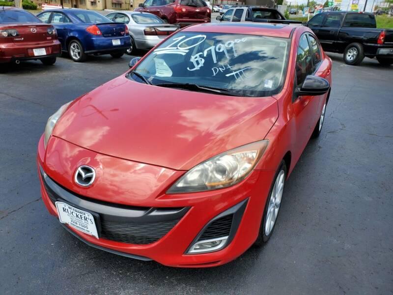 2010 Mazda MAZDA3 for sale at Rucker's Auto Sales Inc. in Nashville TN