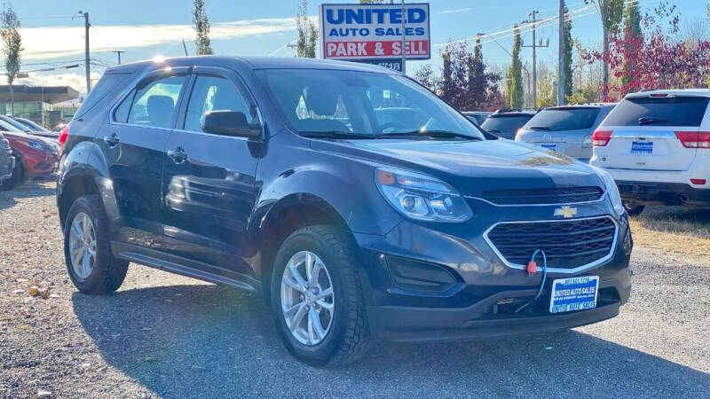 2017 Chevrolet Equinox for sale at United Auto Sales in Anchorage AK