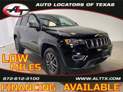 2018 Jeep Grand Cherokee for sale at AUTO LOCATORS OF TEXAS in Plano TX