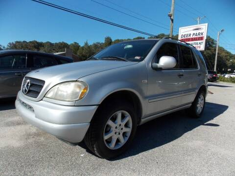 2000 Mercedes-Benz M-Class for sale at Deer Park Auto Sales Corp in Newport News VA