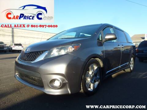 2013 Toyota Sienna for sale at CarPrice Corp in Murray UT
