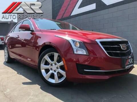 2015 Cadillac ATS for sale at Auto Republic Fullerton in Fullerton CA