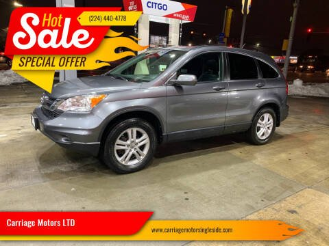 2010 Honda CR-V for sale at Carriage Motors LTD in Ingleside IL