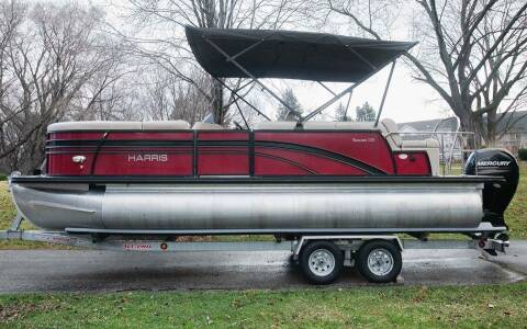 2019 Harris FlotBote Sunliner 22 tritoon w/ sport toons 150 hp for sale at Waukeshas Best Used Cars in Waukesha WI