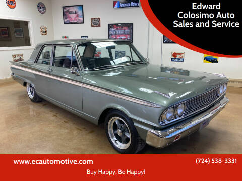 1963 Ford Fairlane 500 for sale at Edward Colosimo Auto Sales and Service in Evans City PA