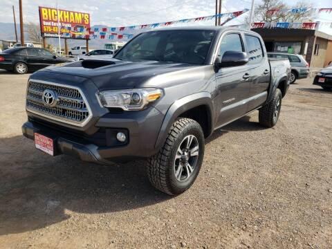 2017 Toyota Tacoma for sale at Bickham Used Cars in Alamogordo NM