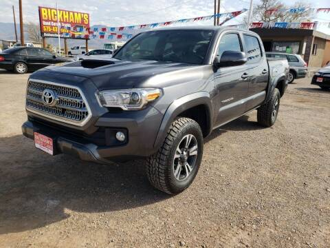 2017 Toyota Tacoma for sale at Bickham Used Cars in Alamogordo NM