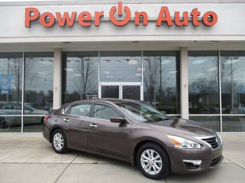 2015 Nissan Altima for sale at Power On Auto LLC in Monroe NC