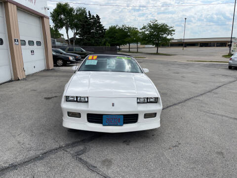 1989 Chevrolet Camaro for sale at Anthony's Car Company in Racine WI