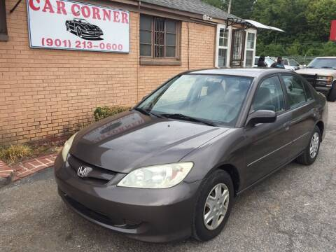 2005 Honda Civic for sale at Car Corner in Memphis TN